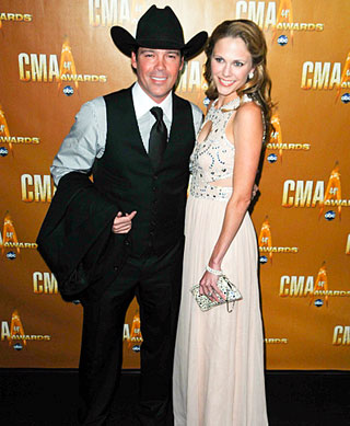 Clay Walker s manželkou