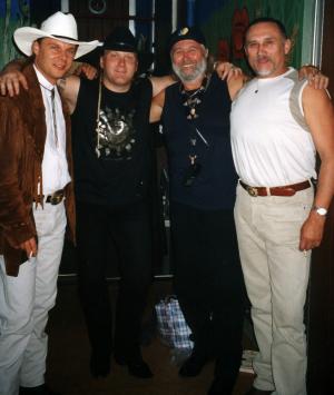 Allan Mikušek, Petr Kocman, Tomáš Linka a Karel Mrkvička (Foto: Jiří Konc)