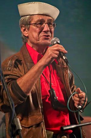 Jan Vyčítal na Stodole Michala Tučného 2009 (Foto: Jiří Konc / CountryWorld.cz)