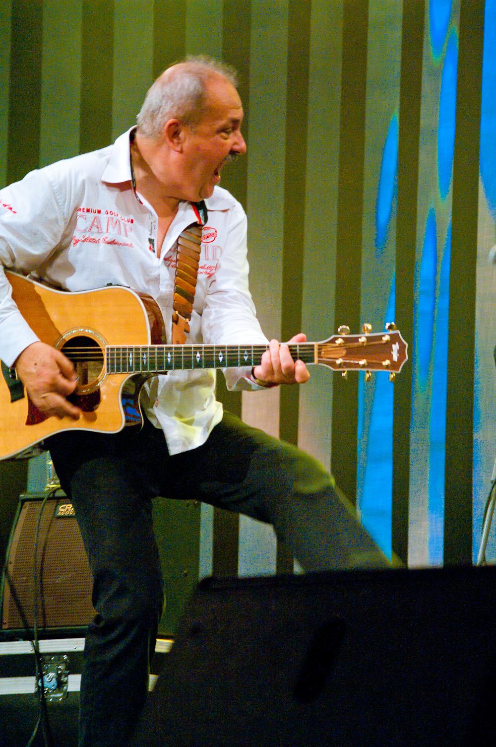Medard Konopík, koncert Honzy Vyčítala a skupiny Greenhorns, Praha, Divadlo ABC 21.10.2012 (Foto: Jiří Konc / CountryWorld.cz)