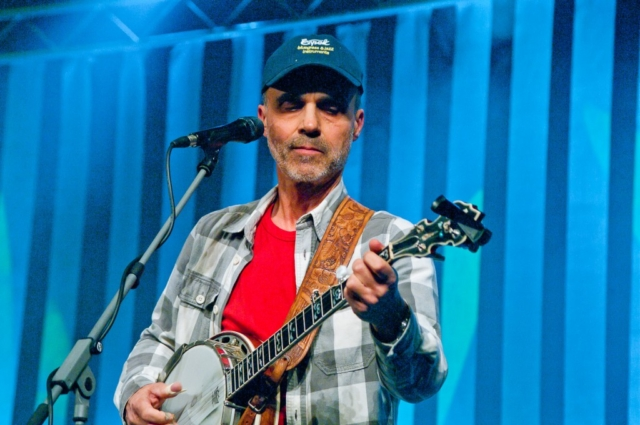 Jiří Eda Panschab, koncert Honzy Vyčítala a skupiny Greenhorns, Praha, Divadlo ABC 21.10.2012 (Foto: Jiří Konc / CountryWorld.cz)
