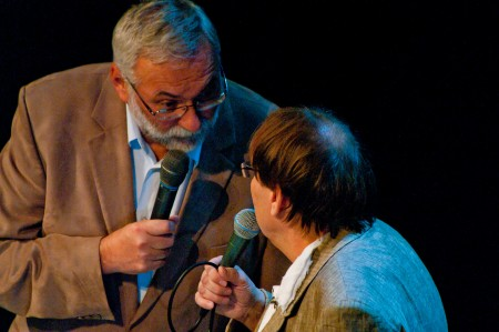 Josef Mladý a Josef Alois Náhlovský - Fešáci 45 let, Praha, Divadlo Hybernia, 19.12.2012 (Foto: Jiří Konc / CountryWorld.cz)