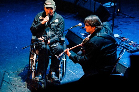 Jindra Šťáhlavský a Antonín Kny - Fešáci 45 let, Praha, Divadlo Hybernia, 19.12.2012 (Foto: Jiří Konc / CountryWorld.cz)