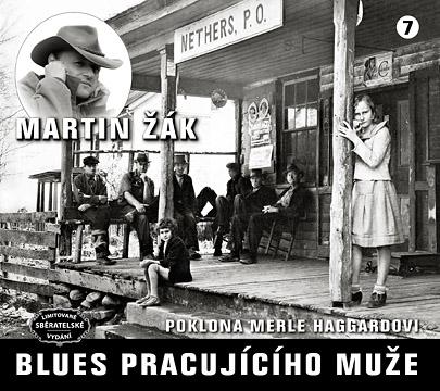 Martin Žák - Pocta Merle Haggardovi (obal CD)
