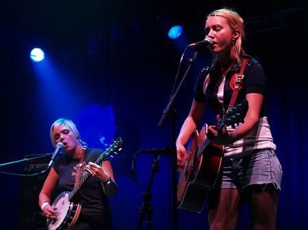 Baskery - Tonder Festival 2008 (foto: Evžen Müller, CountryWorld.cz)