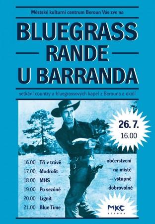 Bluegrass rande u Barranda - plakát