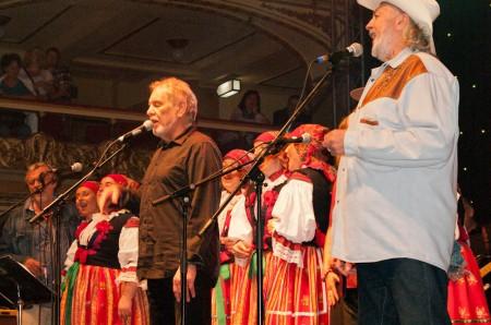 Wabi Daněk a Tomáš Linka, Vzpomínka na Michala Tučného, Praha, Lucerna, 16.4.2015 (Foto: Jiří Konc/CountryWorld.cz)