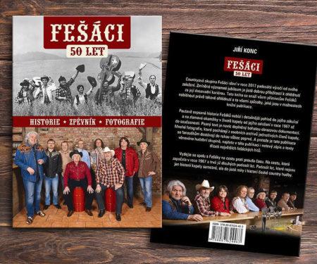 Fešáci 50 letv - historie, zpěvník, fotografie